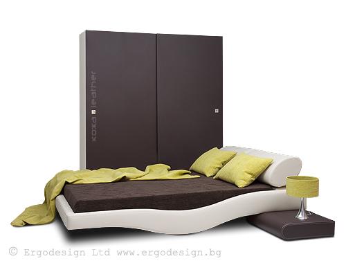 Спален комплект Уейв мебели Ергодизайн