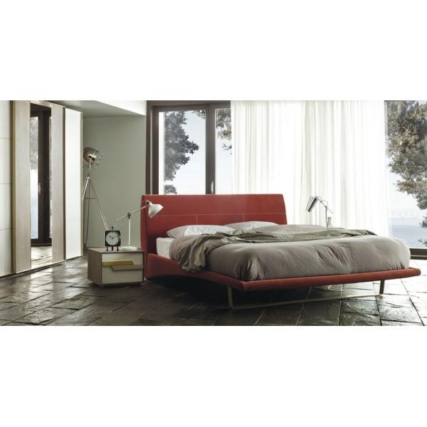 Alegra Легло с метални крака  Тапицирани спални и легла YATAS