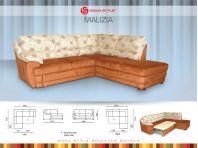 Промоция мека мебел ъглови дивани МАЛИЦИЯ