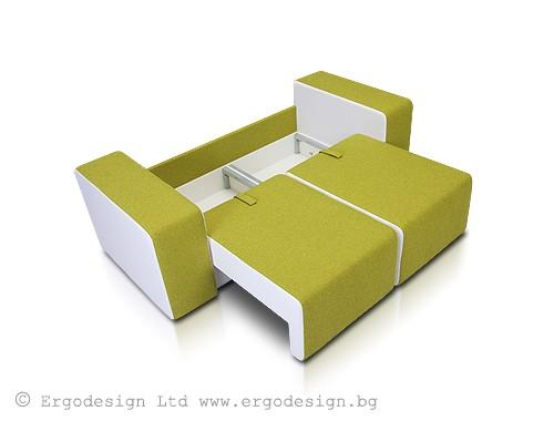 """Мека мебел за детска """"ЛЕГО""""  Дивани Ергодизайн"""