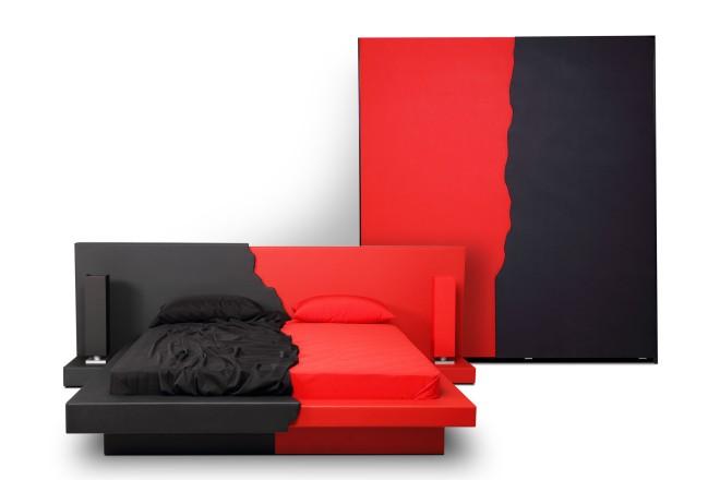 "Дизайнерски  Спален комплект ""ЕТНА""   Дизайнерски Спални  Ергодизайн"