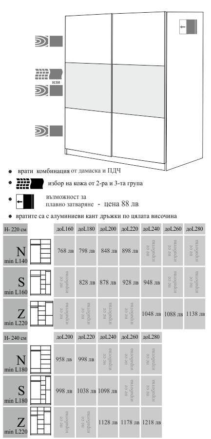 Гардероб Релакс мебели Ергодизайн
