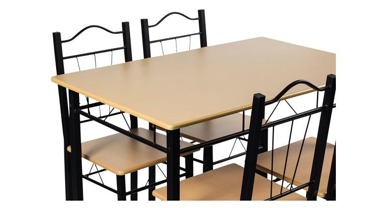 Комплект маса с 4 стола Carmen 20009