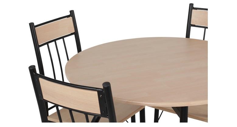 Комплект маса с 4 стола Carmen 20011