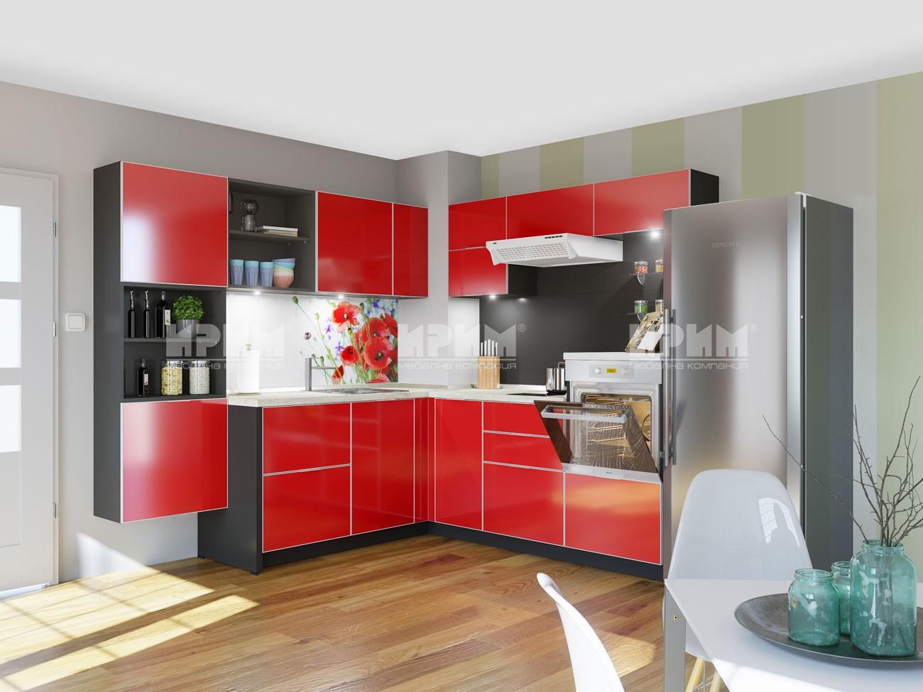 Кухня Карамбола мебели Ирим
